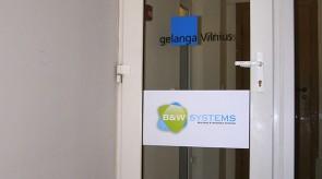 Įėjimas į biurų patalpas