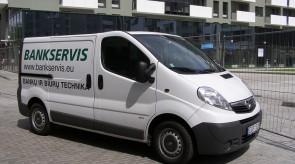 Bankservis Opel Vivaro