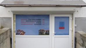SV statyba biuro patalpų langų grafika